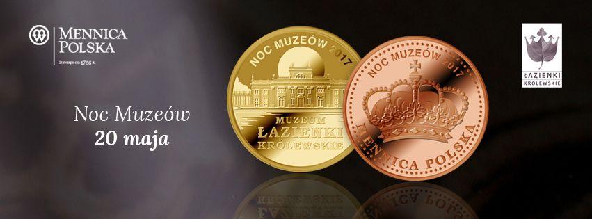 Skarby Mennicy Polskiej Noc Muzeów W łazienkach Królewskich